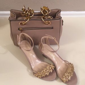 J. Renee shoes and unknown purse